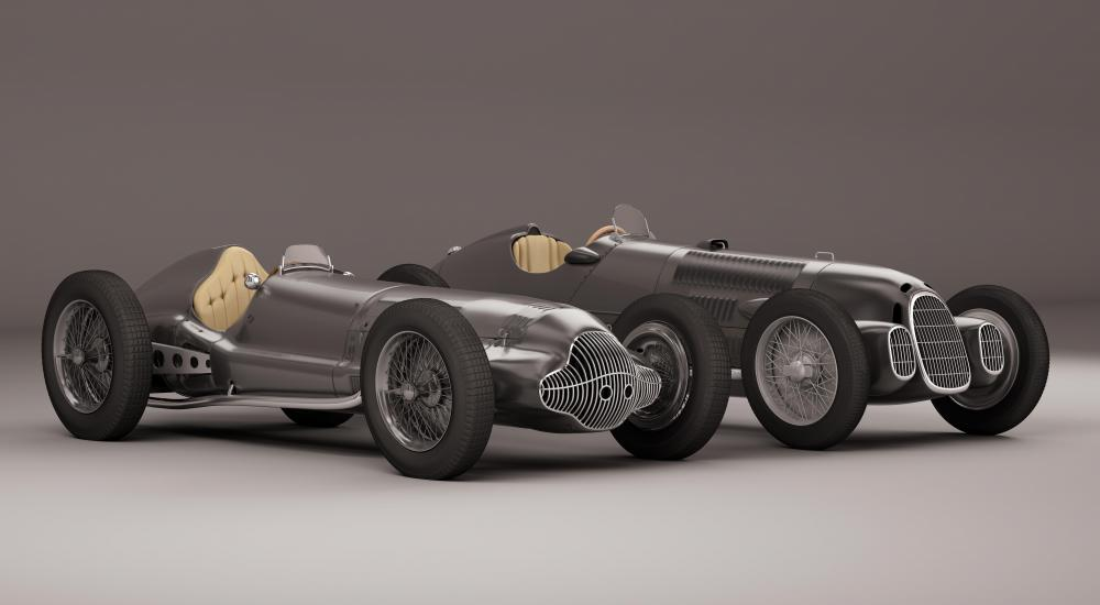 Many technologies that were developed for the Grand Prix, Le Mans, and Indy race cars of the 1930s were late integrated into consumer automobiles.