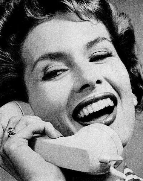 During the 1950s, the rotary phone was the most popular way to make a call.