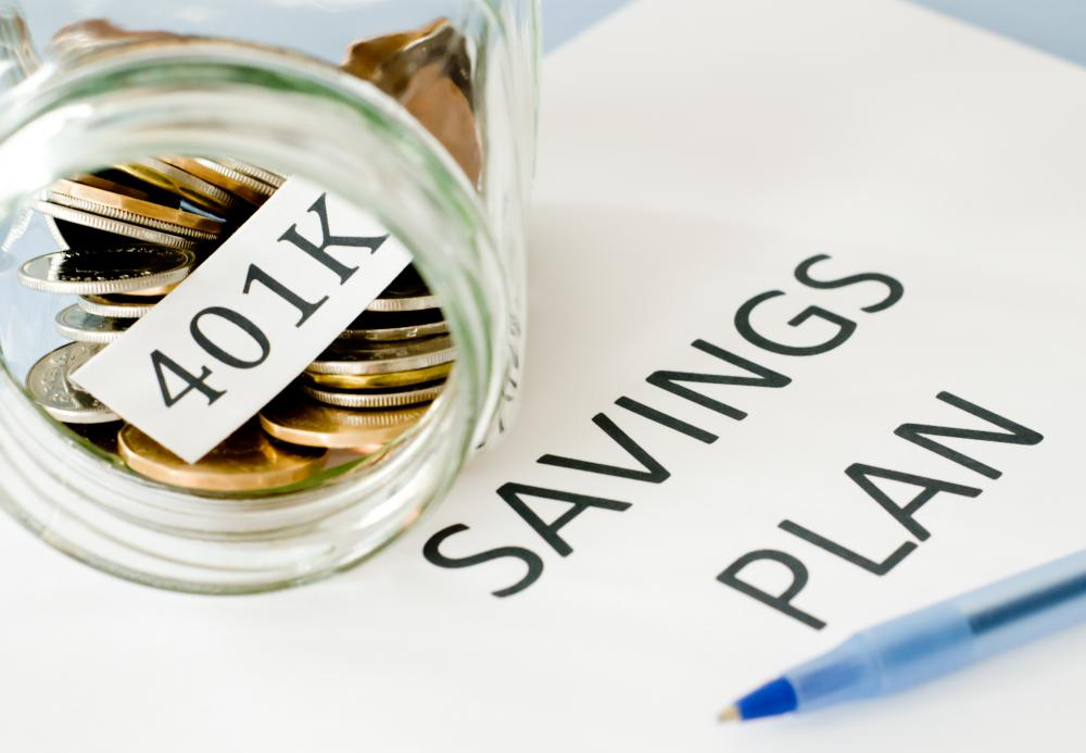 A 401K is a savings plan for retirement.