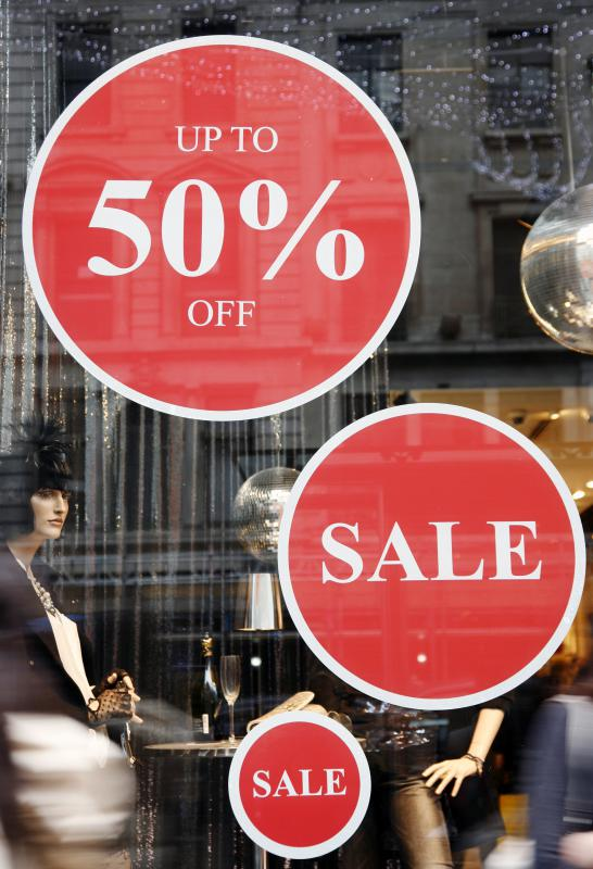 Retailers might offer quantity discounts on surplus merchandise.