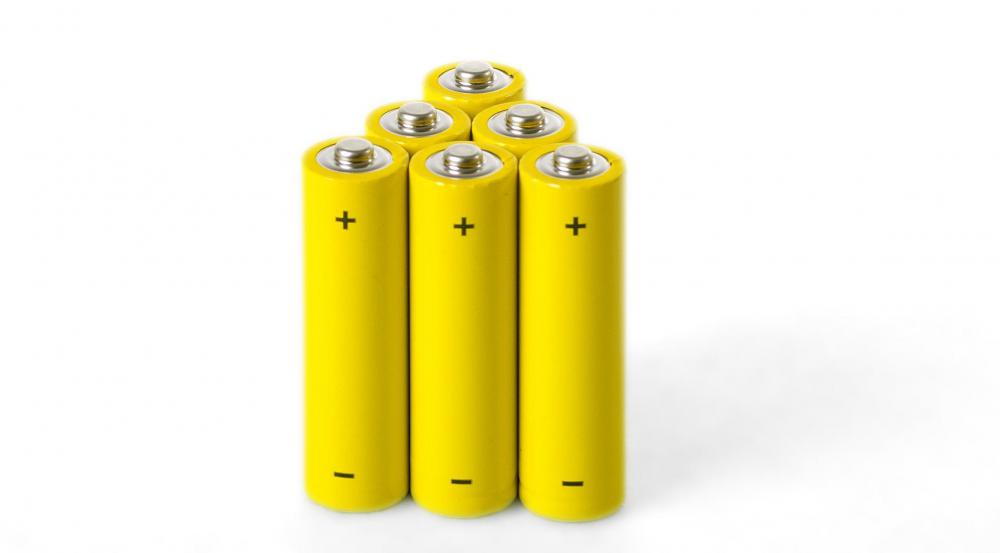 Rechargeable batteries.