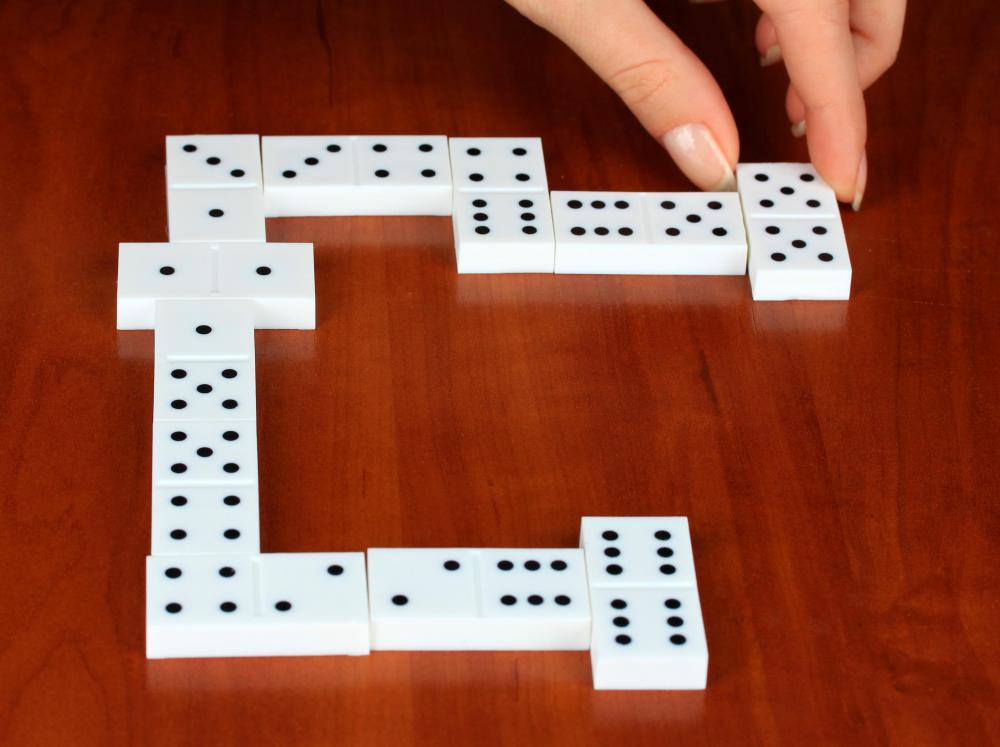 Dominoes is a classic board game.