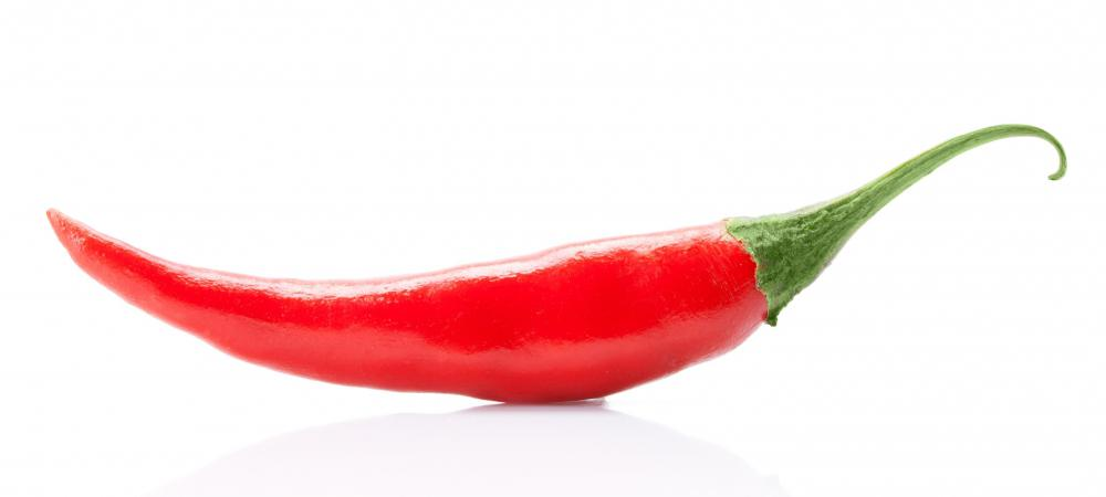 A cayenne pepper.