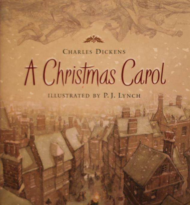 "The Ghost of Christmas Present appears in ""A Christmas Carol""."