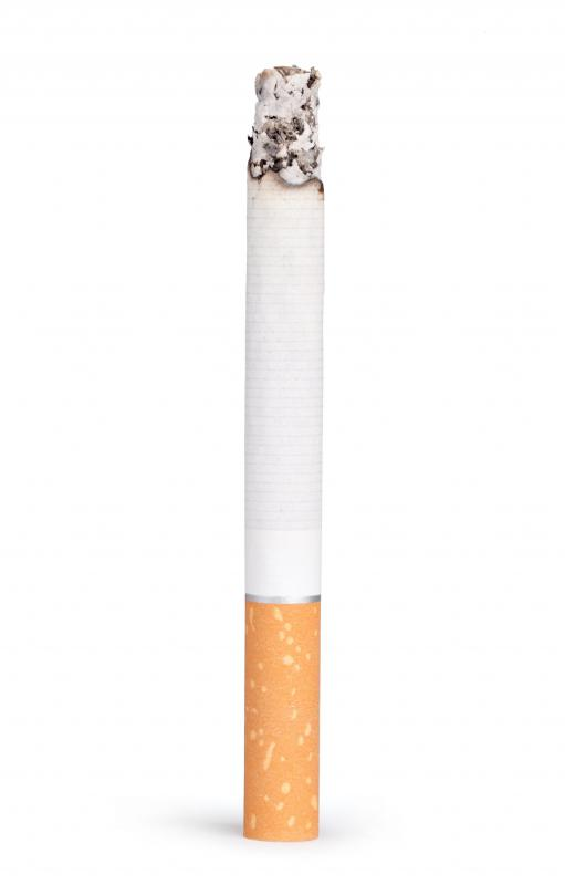 Cigarettes are a major cause of lung cancer.