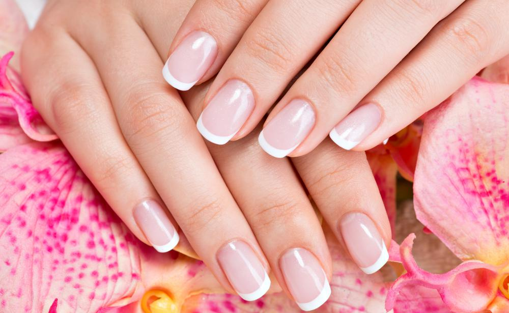 Nail bar technicians are experienced in applying techniques such as French manicures.