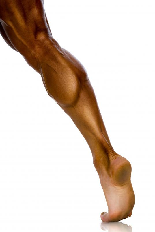 Muscle strain is a common cause of calf pain.