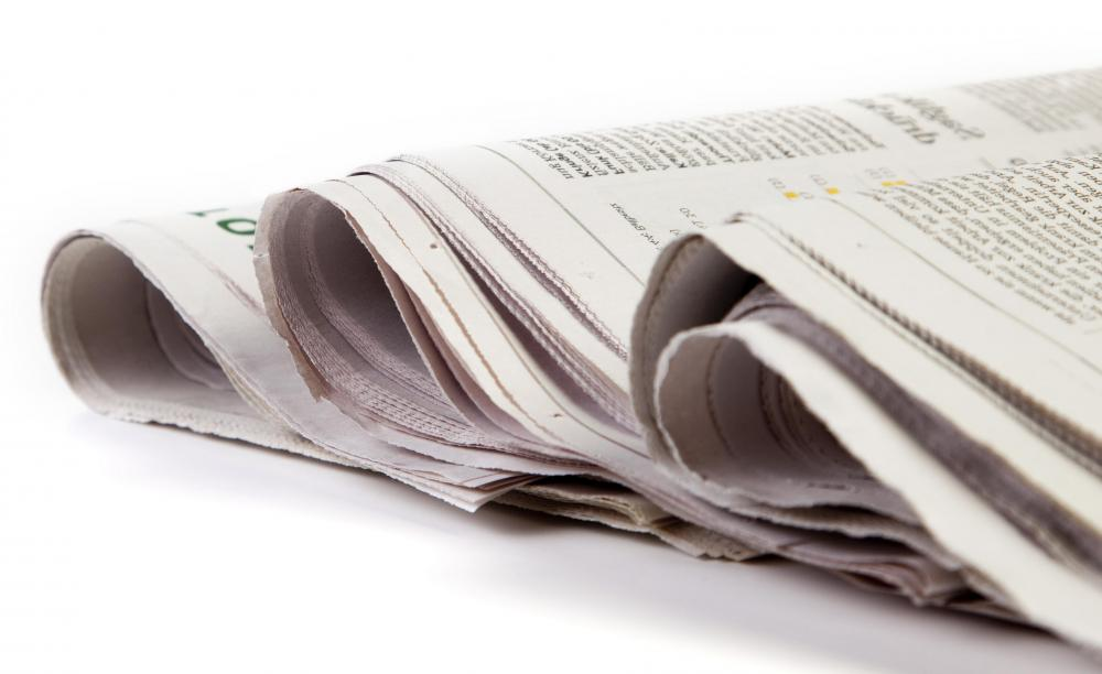 A journalist may pursue a career in print journalism.