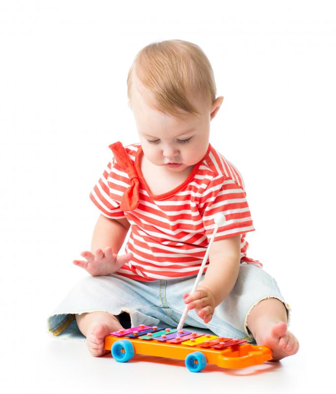 Playing music at a young age can be beneficial to children.