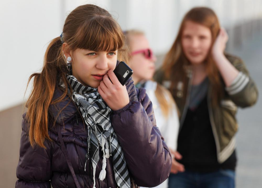 Bullying that takes the form of phone calls can be reported to the telephone company.