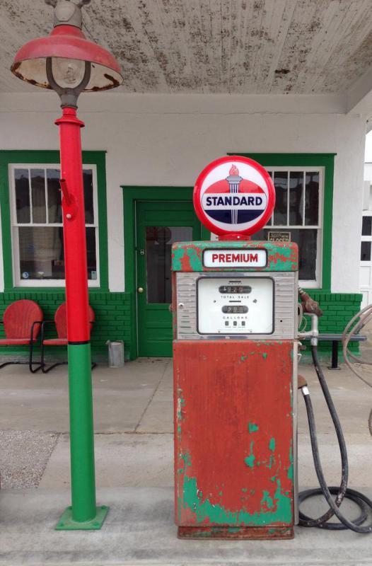 Gas stations often stand empty for years after they're closed.