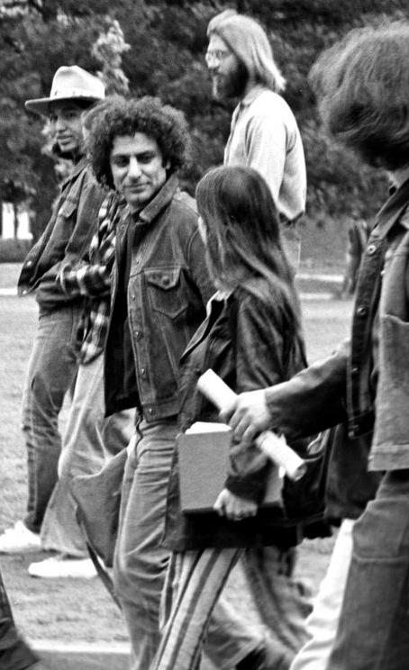 Abbie Hoffman was one of the Chicago Eight.