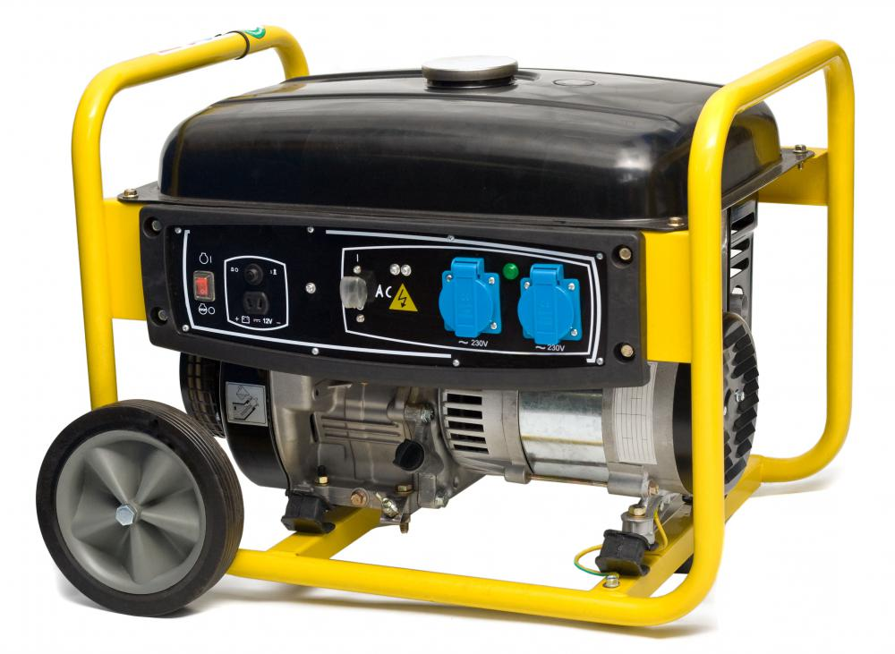 A generator for backup electricity.