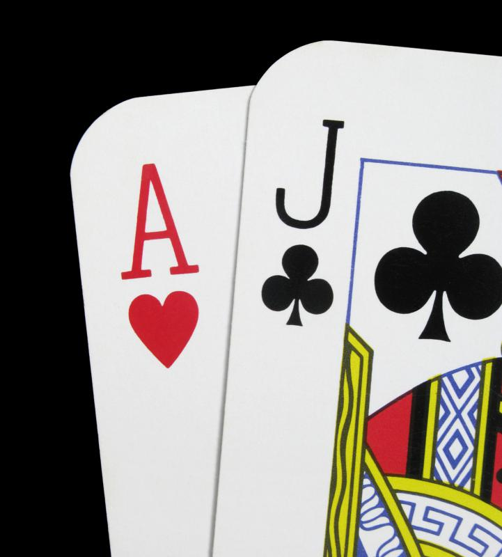 Blackjack can be played on Facebook.