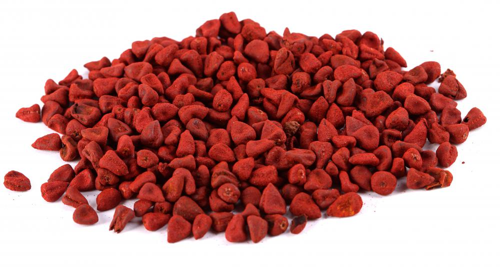 Annatto seeds, which contain gamma tocopherol.
