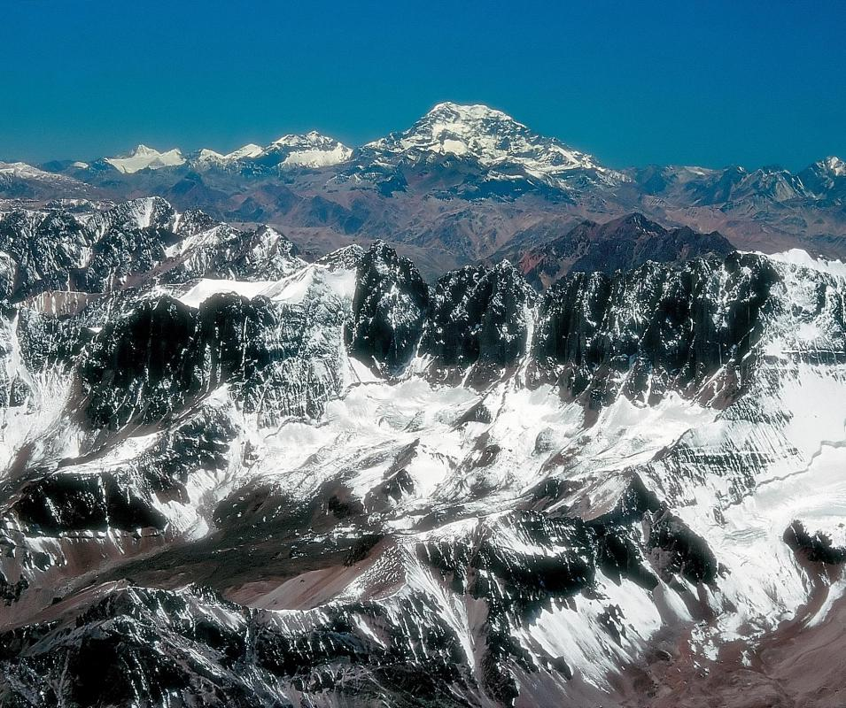 The tallest mountain outside of Asia is Aconcagua.