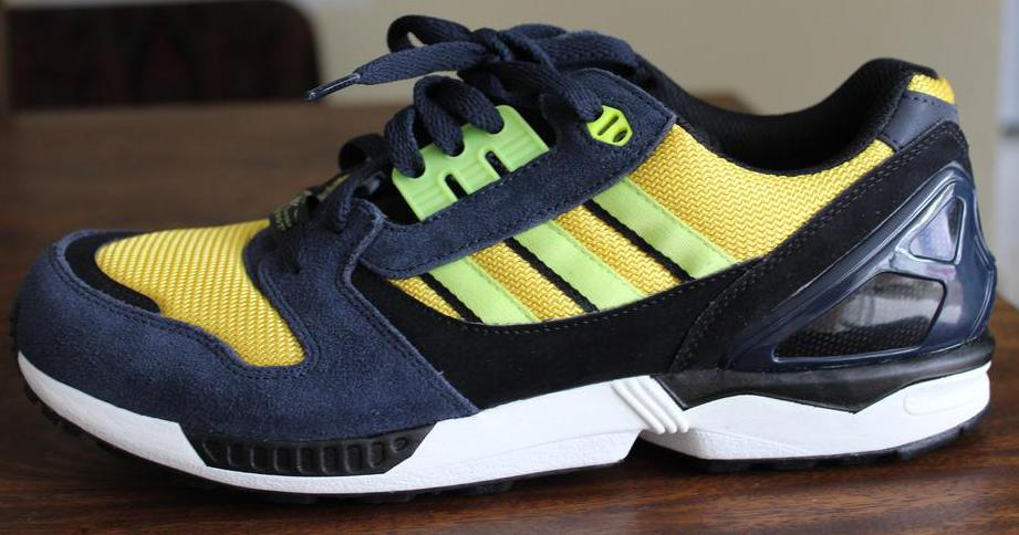 Adidas sneakers were commonly worn with hip hop clothing during the 1980s.