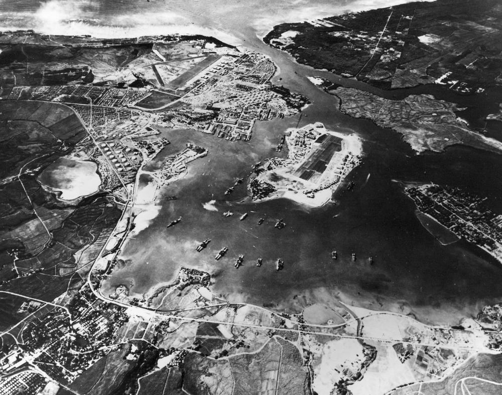 why did attack pearl harbor pictures aerial view of pearl harbor before the attack