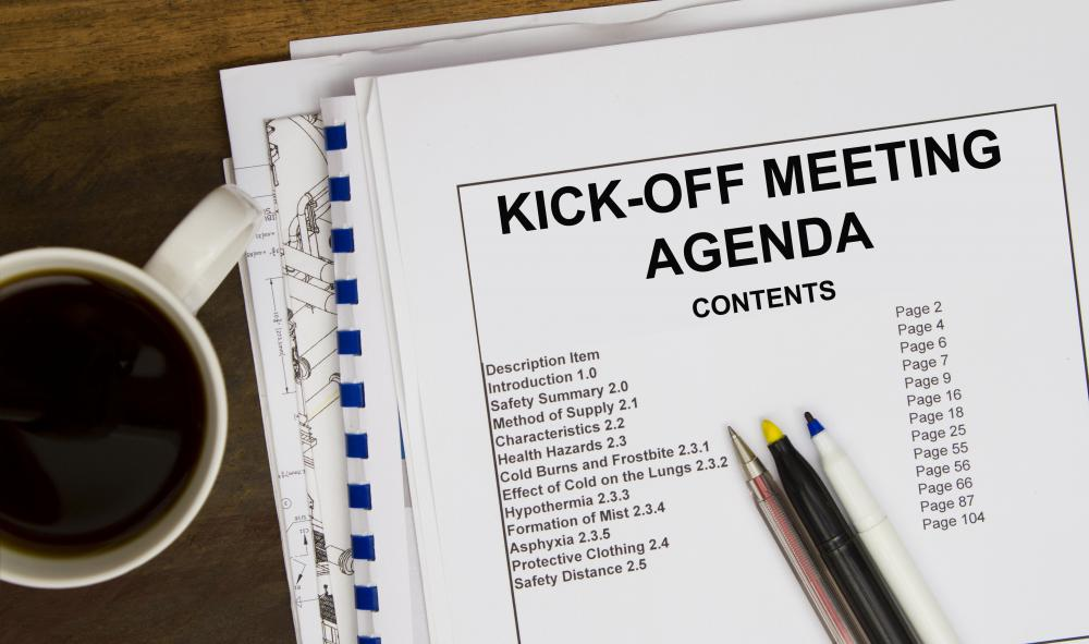 What is a Staff Meeting with pictures – Staff Meeting Agenda