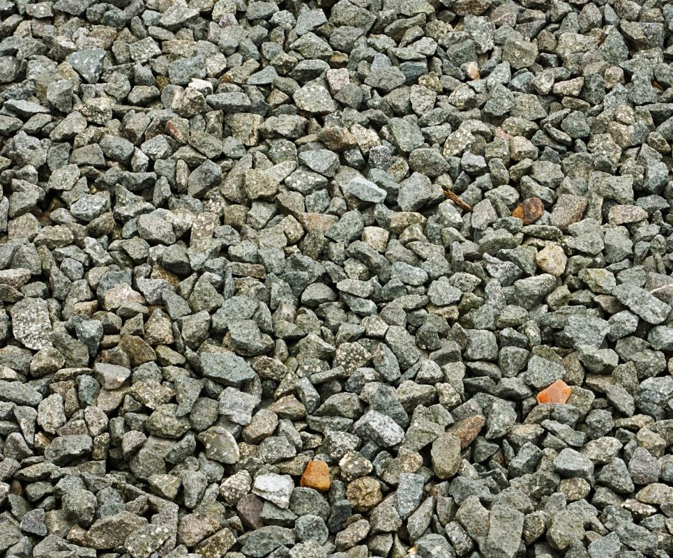 Used for driveways and walking paths, gravel prevents soil from eroding and provides a stable surface.