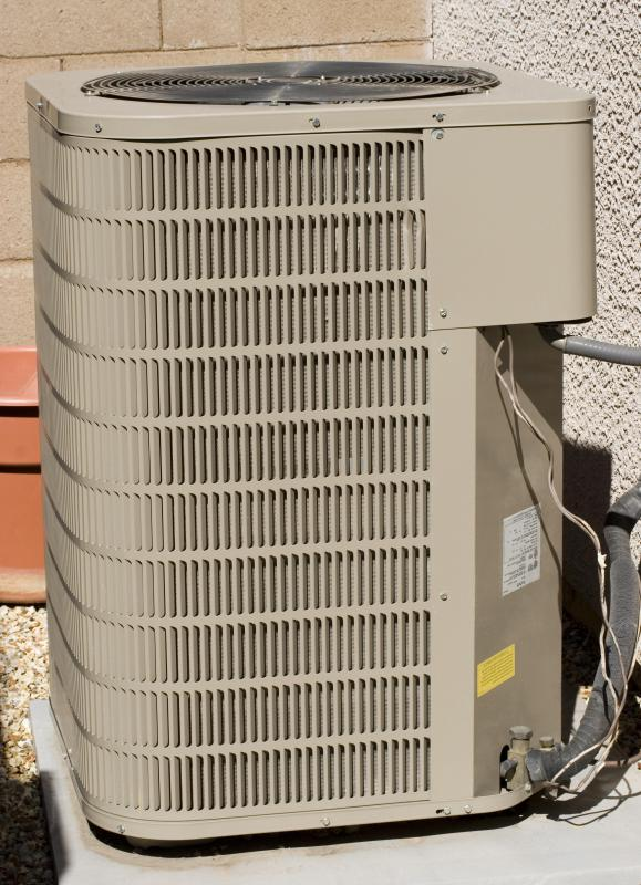 An air conditioner compressor unit.