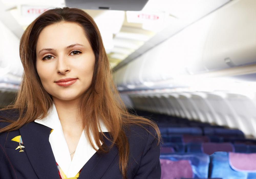 Another name for an airline stewardess is a flight attendant.
