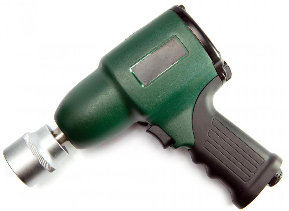 Compressed air is used for some power tools, including air wrenches.