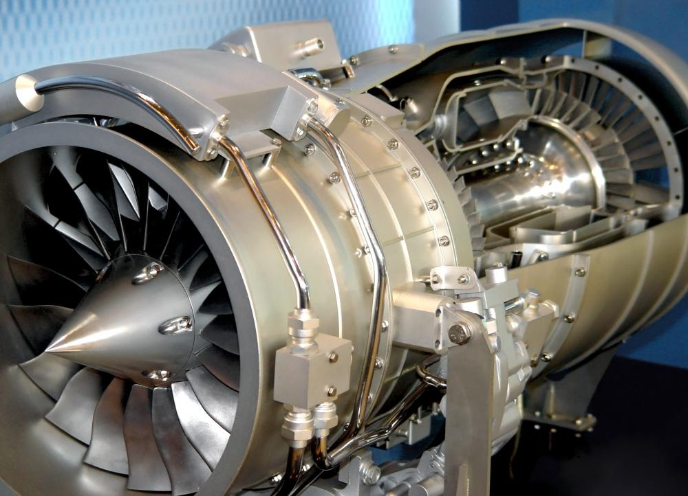Combustors in jet engines work like the cylinders of automobile engines.
