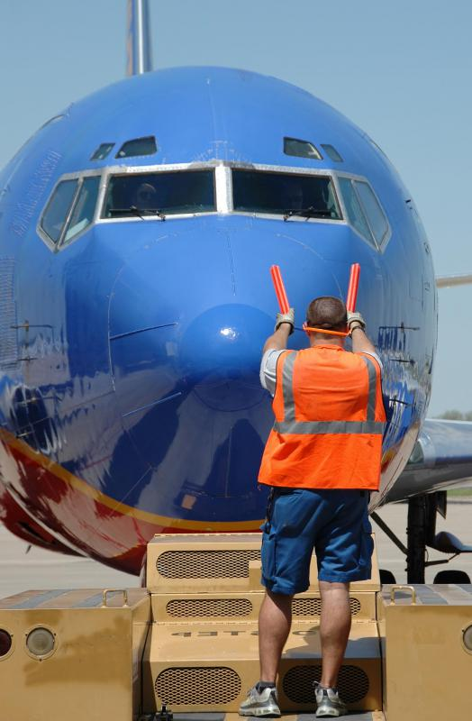 There are a variety of public transportation-related jobs, including working at airports to keep flights operating properly.