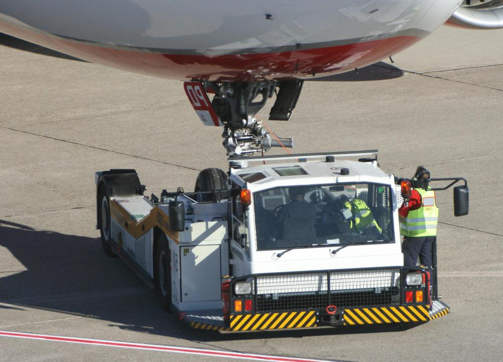 Ramp agents are trained to drive heavy equipment holding supplies and baggage at an airport.