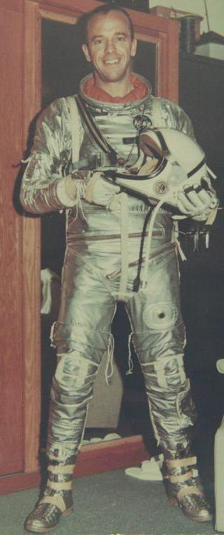 Alan Shepard was the first American man to travel in space.