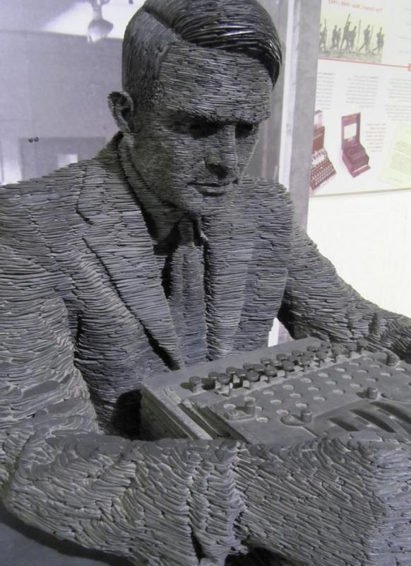 The Turing Test is named after computer genius Alan Turing.