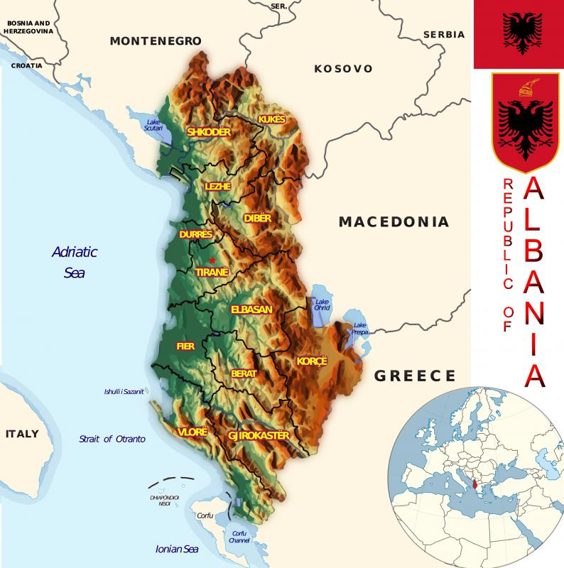 Albania was once part of the Warsaw Pact.