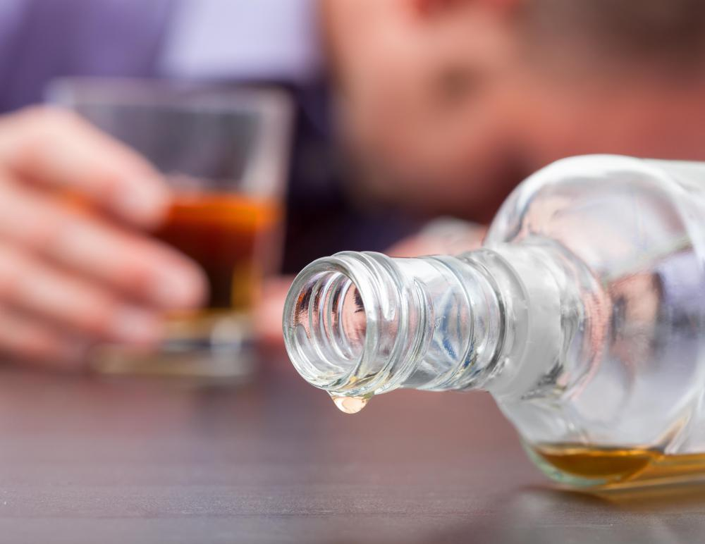 Alcoholism is a common contraindication for ibuprofen.