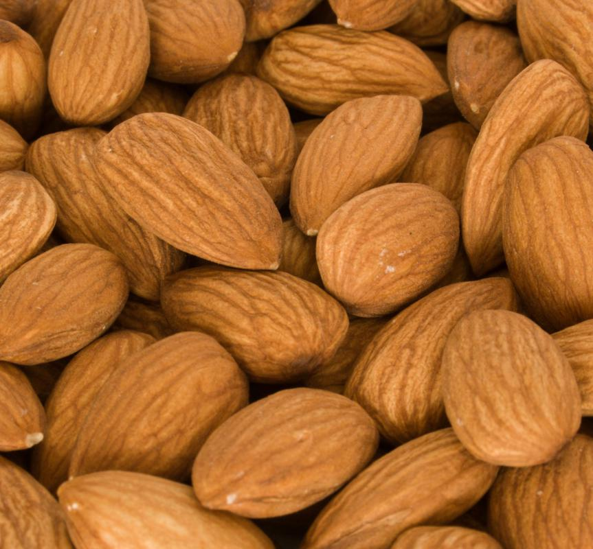 Eating almonds may help lower cholesterol.