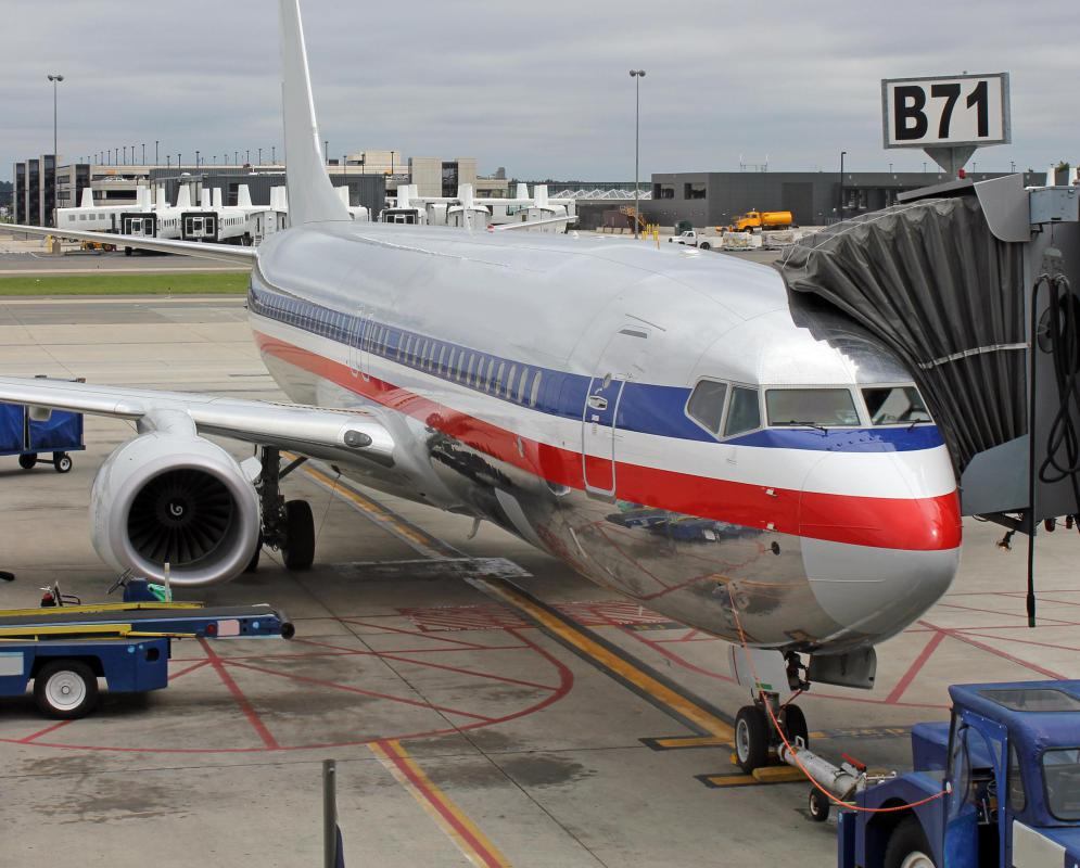 What are the different types of hazardous waste for American airlines plane types