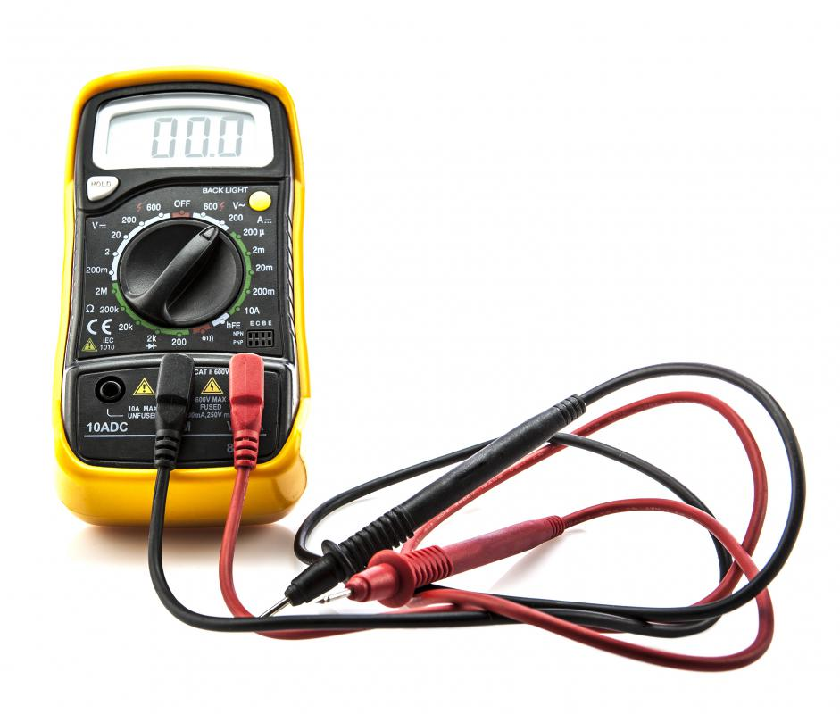 Also known as an ammeter, a current meter measures the flow of electricity in a circuit.
