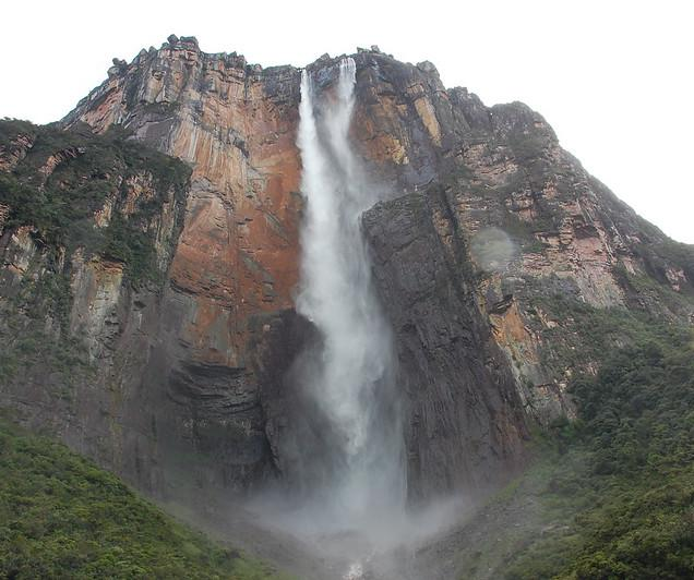Although Venezuela's Angel Falls is the highest waterfall on land, it's less than one-third the height of an underwater waterfall known as the Denmark Strait cataract.