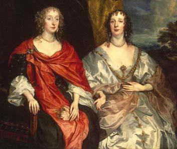 Anne Keith and Anne Kirk were ladies in waiting to Queen Henrietta Maria.