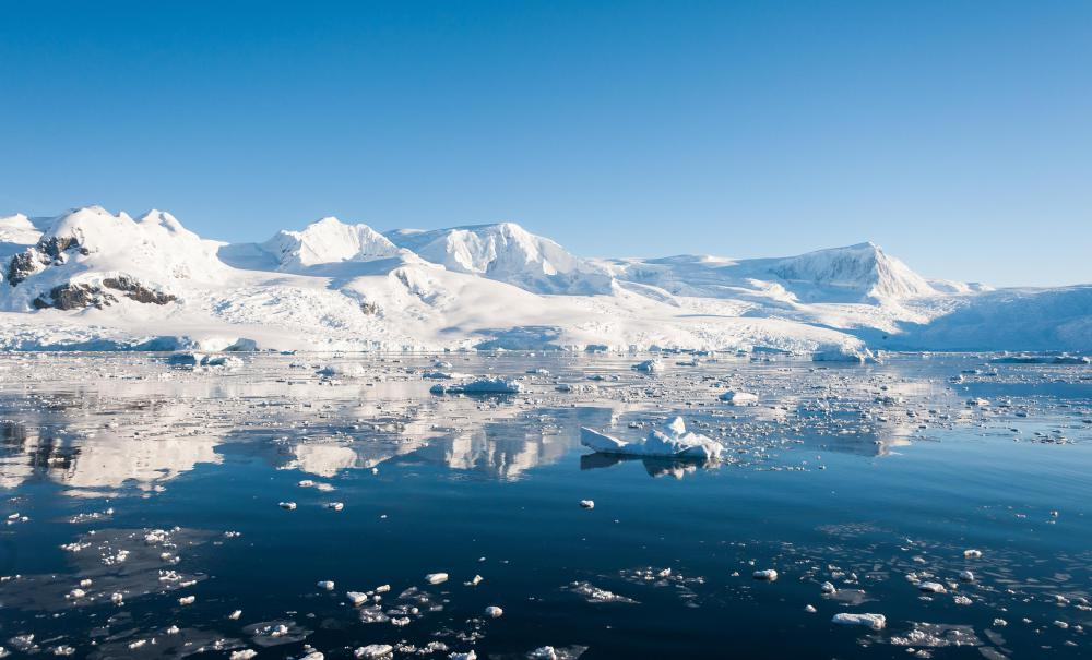 More than 5 million square miles of Antarctica form the world's largest desert.