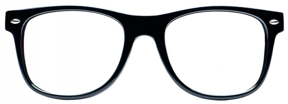 A pair of eyeglasses.