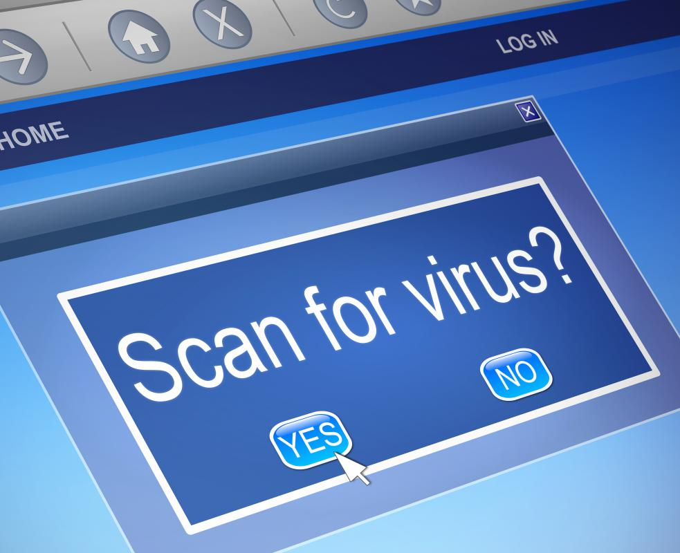 Be sure to run frequent anti-virus and anti-malware scans.