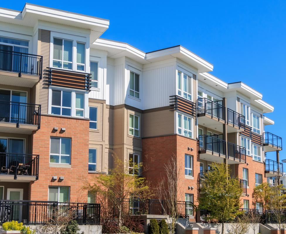 Some apartment buildings allow for short-term housing, especially if they have a relationship with a specific company.