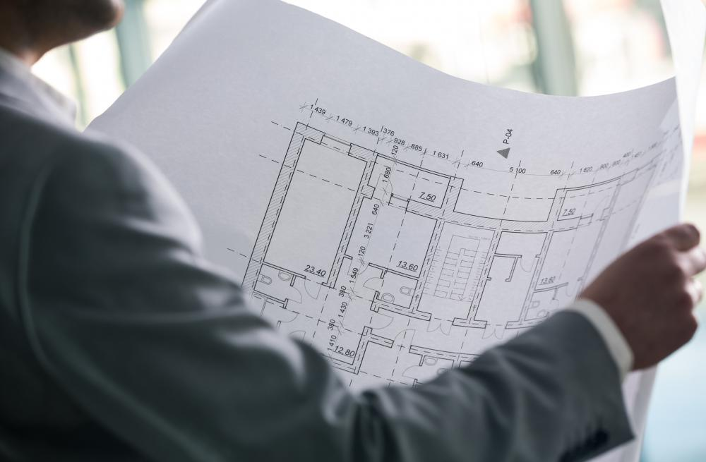 Detailed blueprints are often made using AutoCAD.