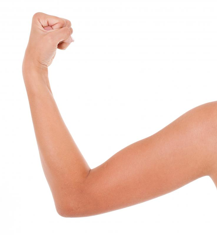 Women can have a harder time toning their arms.