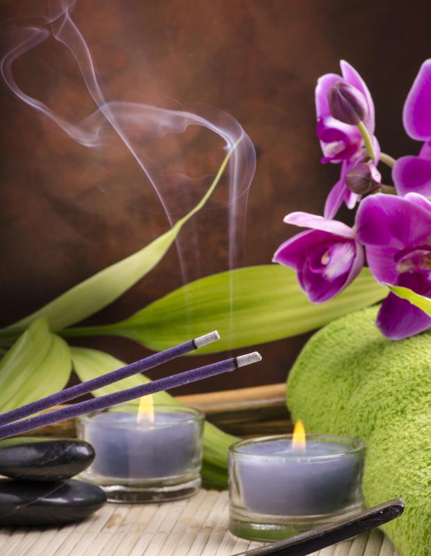 Some spas may use aromatherapy during sessions.