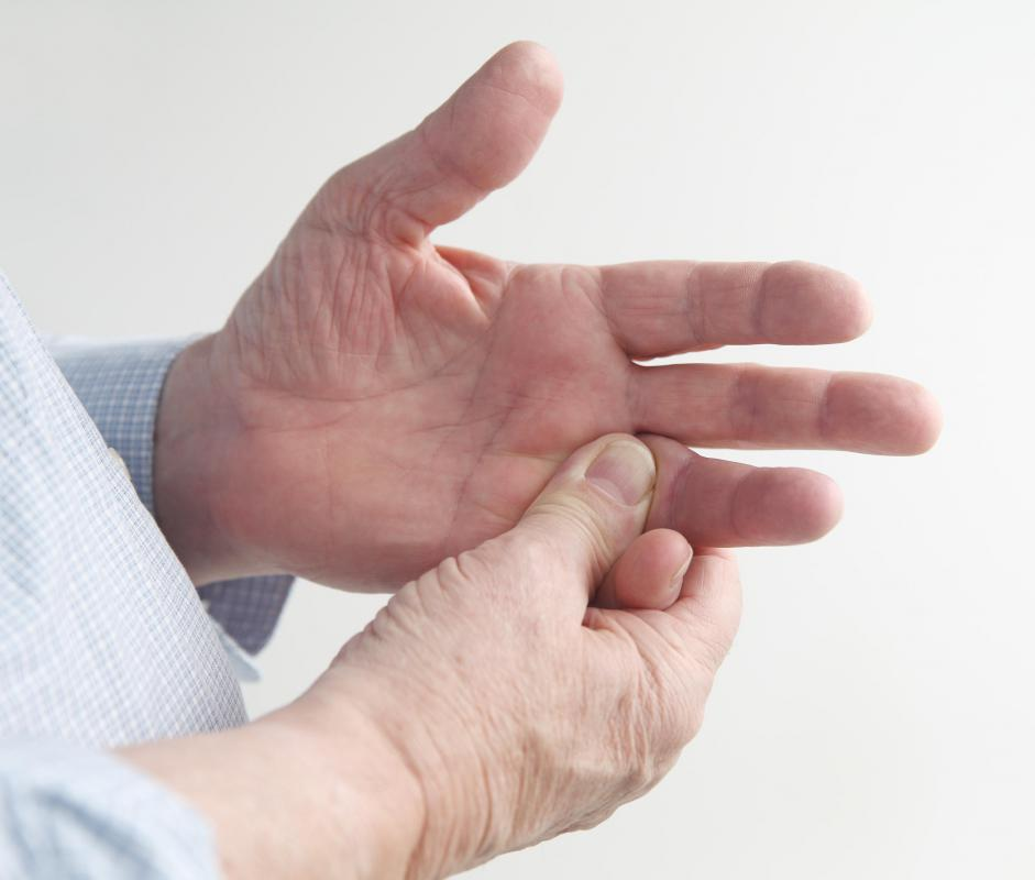A broken finger is typically accompanied by a throbbing pain.