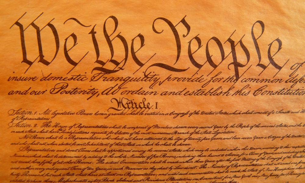 The Ninth Amendment was included in the original Bill of Rights.