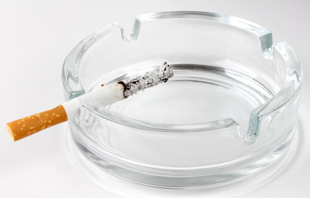 Many cigarette smokers develop a lingering cough.