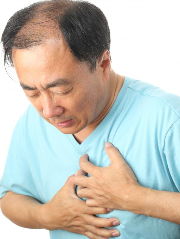 A tramadol overdose may result in a heart attack.
